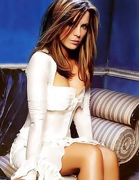 Scantily clad Kate Beckinsale