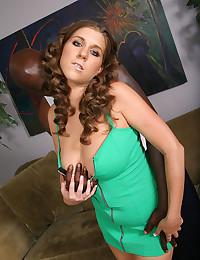 Slutty girl for big black cock