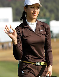 Candid Photos of Michelle Wie