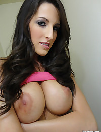 Dark Haired Vixen Kourtney Rides Dick