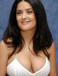 Hollywood actress Salma Hayek shows her naked body on her films