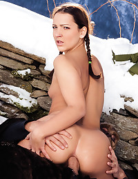 Sabrina Fucked In The Snow
