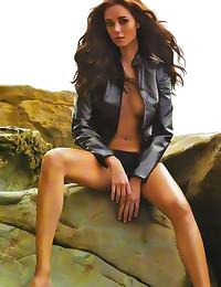 Sexy slender Latina model