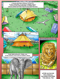 Porn comic at the circus