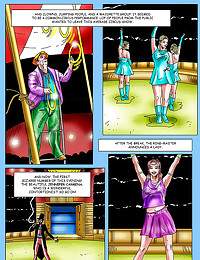Porn comic at the circus