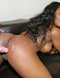 Voluptuous Ebony Babe Persia Gets Screwed