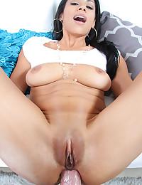 Latina Beauty Gets Anal Pumped