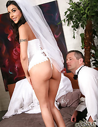 Beautiful Bride Lou Charmelle Pumped