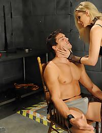 Dominant blonde pornstar fucked hard