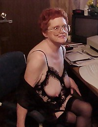 grannies being fucked in black stockings