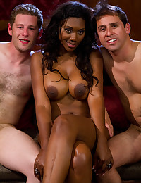 Submissive Man Dominated By Ebony Babe