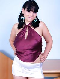 Curvy girl overgrown vagina