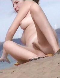 Naked ladies at nude beach photos