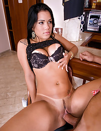 Erotic Brazilian Loves Enormous Cock