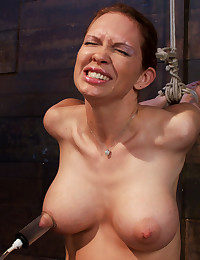 Pain for her big tits