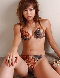Pretty Asian Beauty Goes Solo