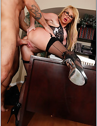 Naughty Teacher Gets Pounded By Student