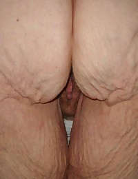 cum on my hairy granny pussy