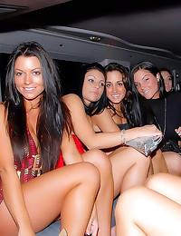 Sucking and fucking at club