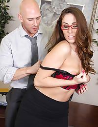 Sexy Officegirl Fucks In The Office