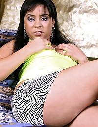 Voluptuous Marianna Impaled On Black Cock