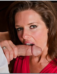 Hot Cougar Gets What She Wants
