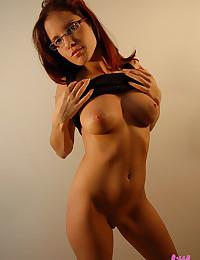 Redhead with amazing body