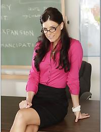 Teacher in glasses good sex