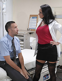 Anal sex with dirty doctor