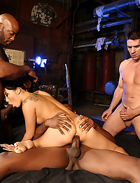 Horny Minx Asa Gets Ganged On