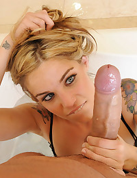 Tattooed Cutie Enjoys Hard Fuck