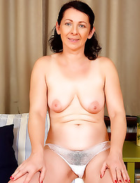 Mature is a hairy slut