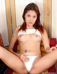 Solo Asian with hairy box