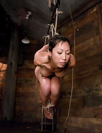 Horny Asian Gets Brutal Whipping
