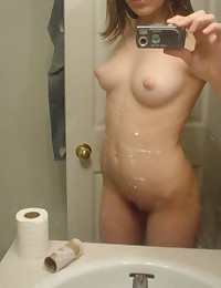 Photos of an amateur honey who has nice tits and hot buns