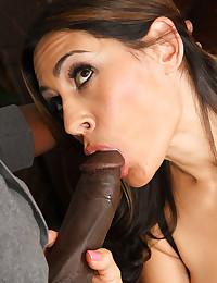 Latina Hottie Enjoys Thick Black Dick