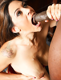 Latina Hottie Enjoys Thick Black Dick