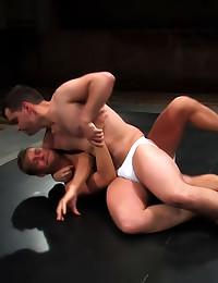 Gay wrestling has hardcore se...