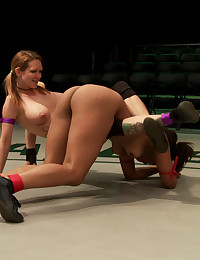 Sporty Babes Love To Wrestle Fuck