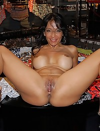 Horny Rosey Spreads For Fat Dick