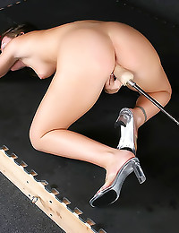 Her pussy is wet for toy
