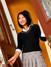 Cute Asian sweetheart hardcor...