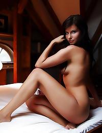 Solo slender erotic girl