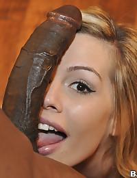 Tara Impressed With Massive Black Cock
