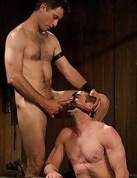 Two Kinky Gay Men Play Naughty