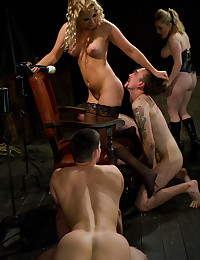 Men forced to worship