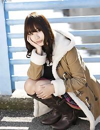 Very Busty Asian Beauty Looks Stunning
