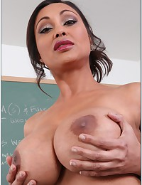 His teacher is a slut