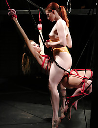 Hot, wet, sexy action by two amazing BDSM players!