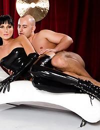 Sexy Minx Sarah Takes Two Dicks